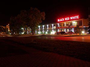 Biłgoraj - A headquarter of Black Red White, Krzeszowska Street