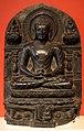 Bihar, stele con episodi della vita di buddha (la scimmia che gli offre il miele), X secolo.jpg