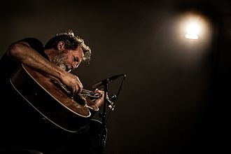 Bill Orcutt - Guitarist Bill Orcutt performing at Kunsthall Oslo, Norway