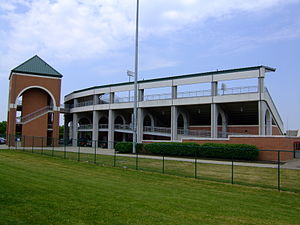 Ohio State Buckeyes baseball - Bill Davis Stadium on the campus of The Ohio State University