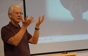 Bill Nichols - Nichols at a film seminar, the Central European University in Budapest, June 2013