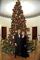 Bill and Hillary Clinton Christmas Portrait 1999.jpg