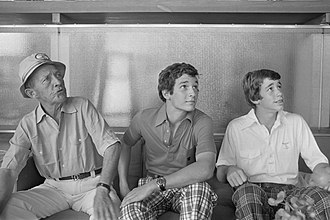 Nathaniel Crosby - Bing, Harry and Nathan Crosby in 1975