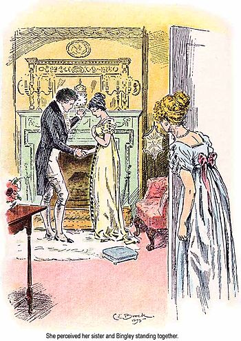 English: C. E. Brock illustration for the 1895...