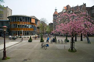 University of Amsterdam - The Binnengasthuis area