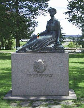Vänersborg - Image: Birger Sjöbergs Frida