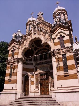 Alexandru Săvulescu (architect) - Image: Biserica Amzei