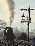 Bishops Lydeard - 3850 ready to start the day.JPG