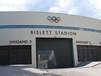 Bislett Stadium - The main entrance