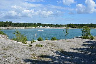 Fleringe - Image: Blå lagunen Ar 05