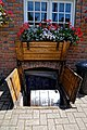Black Horse Inn pub cellar trap door in Nuthurst West Sussex England 01.jpg