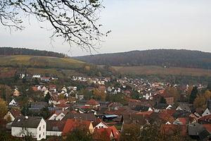 Elsenfeld - Rück-Schippach with the Rücker Schalk winegrowing area