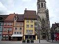 Blick auf die gotische Kapellenkirche in Rottweil - panoramio.jpg