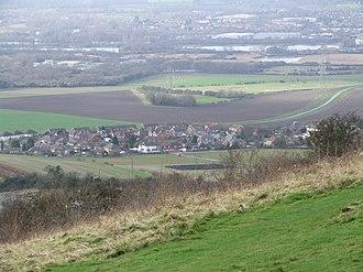 Burham - Image: Blue Bell Hill 0012