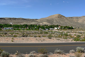 Blue Diamond, Nevada - Image: Blue Diamond Nevada 2