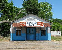 Blue Front Cafe in Bentonia