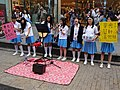 Blue Guitar Club, Our Lady Of Providence Girls' High School students in Ximending 20171111.jpg