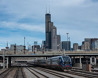 <i>Blue Water</i> (train) Amtrak service between Chicago, IL and Port Huron, MI