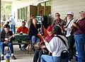 Bluegrass jam at fundraiser Florida USA March 2010.jpg