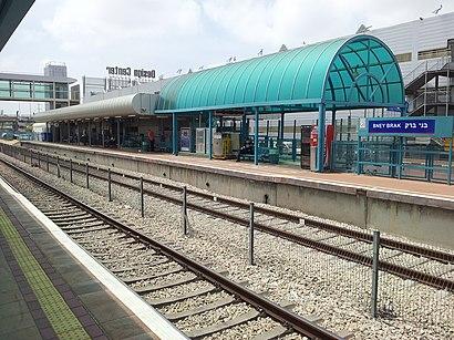 איך מגיעים באמצעות תחבורה ציבורית  לתחנת רכבת בני-ברק? - מידע על המקום