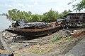 Boat Repairing Area - Riverbank Matla - Godkhali - South 24 Parganas 2016-07-10 4994.JPG