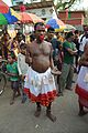 Body Pierced Gajan Sannyasi with Sword - Bainan - Howrah 2015-04-14 8050.JPG