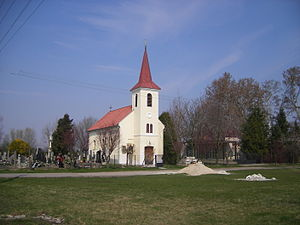 Bodzianske Lúky - catholic church in the village