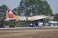 Boeing B-17G-85-DL Flying Fortress Nine-O-Nine Landing Approach 17 CFatKAM 09Feb2011 (14797259248).jpg