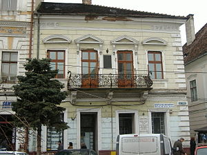 János Bolyai - The house where the mathematician János Bolyai was born