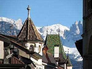 Bolzano - Bolzano and the Alps