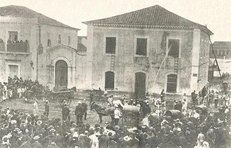 Firefighters Corps of Paraná State - German-Brazilian Firefighters Volunteers Firefighting in Curitiba - 1897