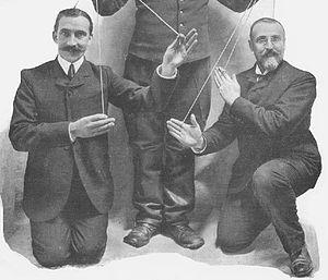 La Diva de l'Empire - Entertainers Numa Blès (1871-1917) and Dominique Bonnaud (1864-1943), lyricists of La Diva de l'Empire