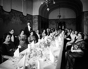 Bonnier family - Image: Bonniers dinner