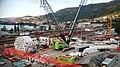 Borhode - TBM Ulrikke, montering i Arna i september 2015.jpg