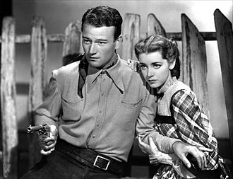 Marsha Hunt (actress, born 1917) - With John Wayne in Born to the West (1937)