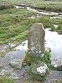 Boundary stone near Dick's Well - geograph.org.uk - 1358397.jpg