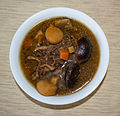 Bowl of Korean short rib stew.jpg