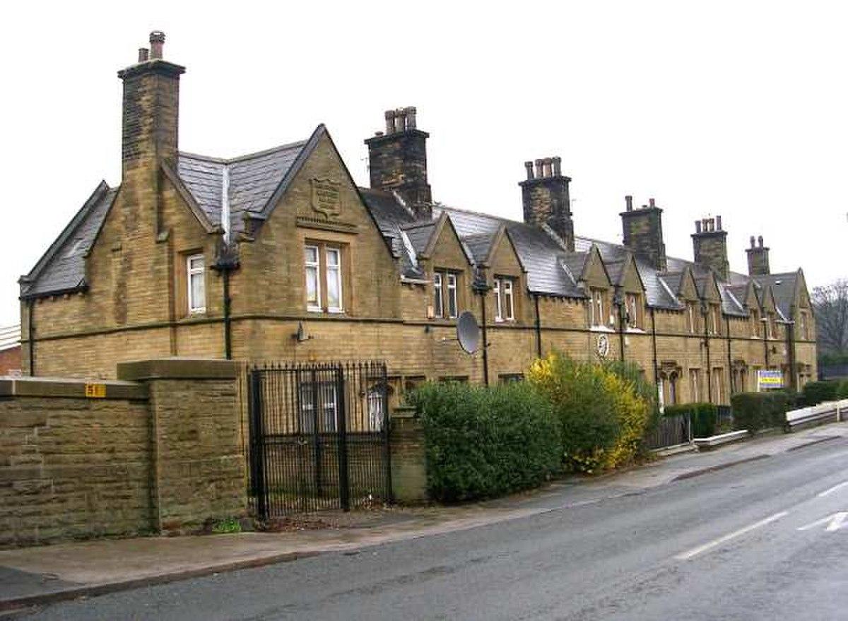 Bowling Dye Works Almshouses - New Cross Street - geograph.org.uk - 638072.jpg
