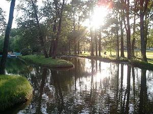 Bowness Park, Calgary - Image: Bowness Park lagoon