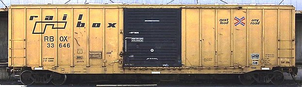 Boxcar railbox