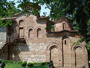 Kaloyan and Desislava - A view of Boyana church