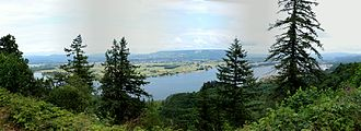 Bradley State Scenic Viewpoint - Image: Bradley State Scenic Area panorama