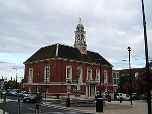 Braintree, Essex - Image: Braintree Town Hall Centre, Fairfield Road, Braintree geograph.org.uk 59709