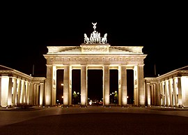 BrandenburgGate FrontatNight June 2004.jpg