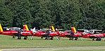 Brasschaat 2017 Marchetti SF260 Belgian AF Formation Red Devils 01.jpg