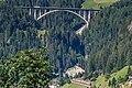 Brenner Autobahn mit Äußere Nößlachbrücke und Eurocity ÖBB bei Sankt Jodok - AT (48880979021).jpg