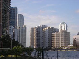 Brickell - Brickell and Brickell Key.