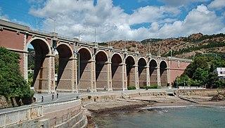 Marseille–Ventimiglia railway French, Monégasque and Italian railway