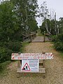 Bridge temporarily closed, Woodfidley Passage, New Forest - geograph.org.uk - 510054.jpg