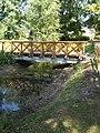 Bridge to the Island of the Round Lake in Jubileum Park, 2017 Dabas.jpg